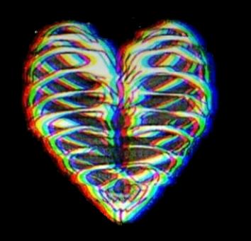 #Heart #aesthetic  #3D #BW #BWSticker