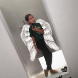 freetoedit sister tiktokstickers bored angel