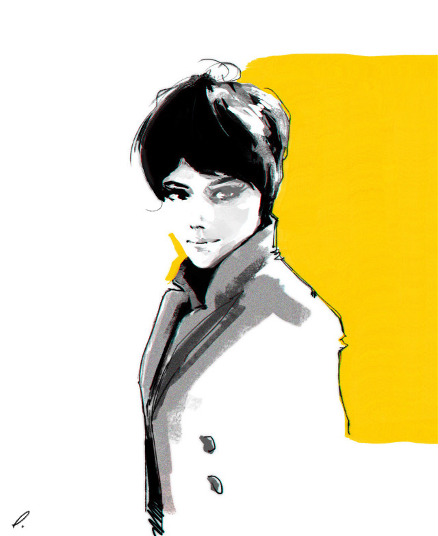 #punksy #artist #painter #illustrator #drawing #fashion #fashionart #style #dress #lashes #makeup