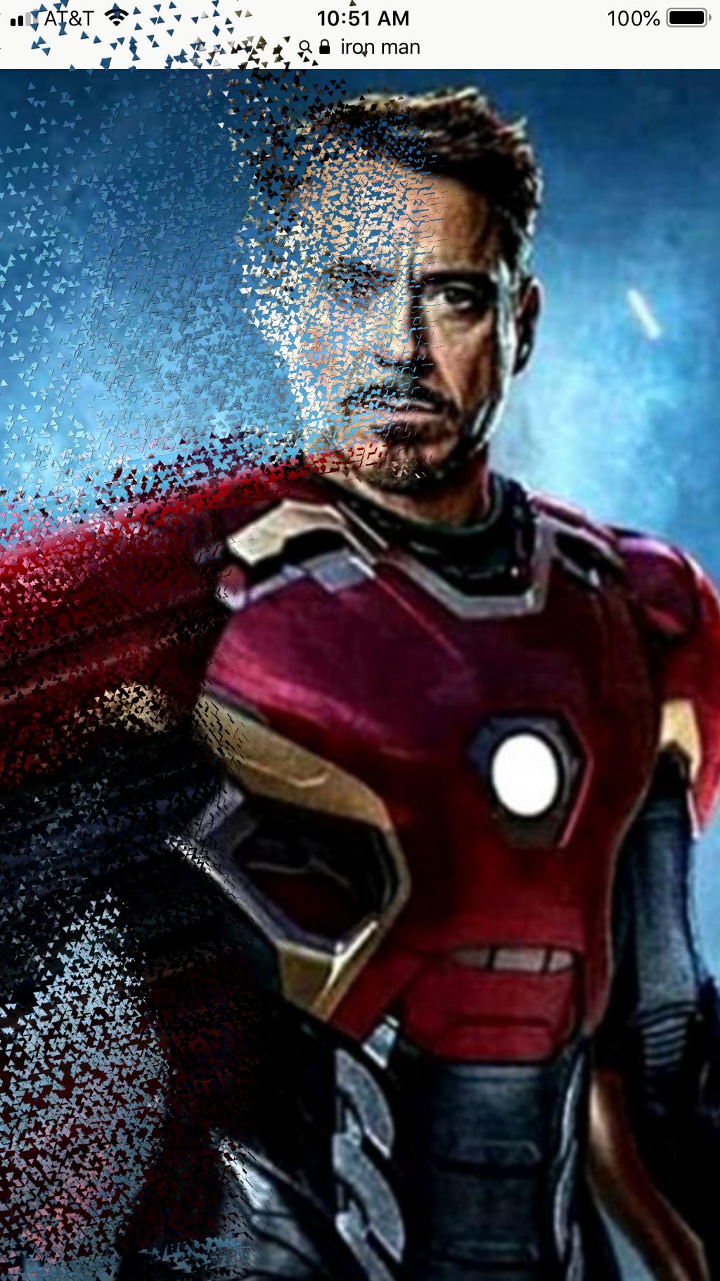 Rip Iron Man #endgame #freetoedit