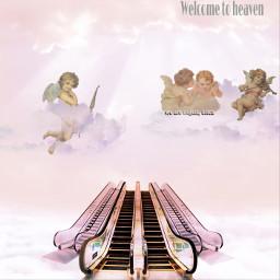 ircescalatorstoheaven escalatorstoheaven freetoedit heaven stairwaytoheaven