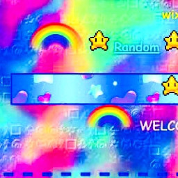 kidcore clowncore rainbow japan aesthetic freetoedit