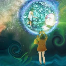 freetoedit mural arte universo🌌 universo