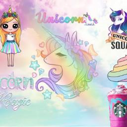 freetoedit unicorn unicornfrappuccino rainbow unicornpoop