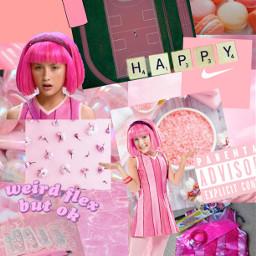 freetoedit lazytown lazytownaesthetic oofohwell pinkaesthetic