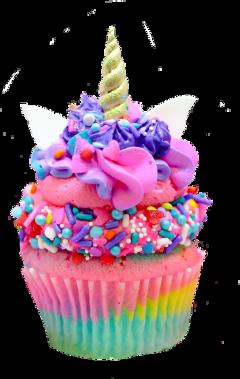 freetoedit muffin unicorn rainbow cupcake