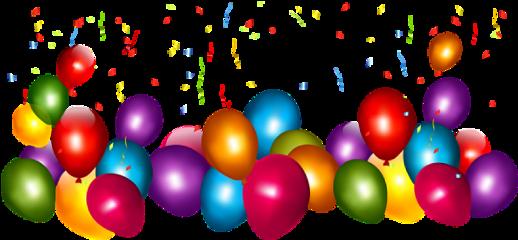 celebrate balloons party birthday happy freetoedit