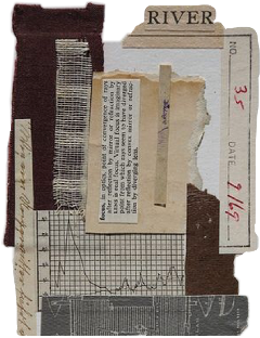 paper clippings background chart river freetoedit