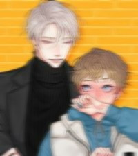 I blurred it cuz the quality's terrible.  If you like yaoi then I totally recommend k's secret by Morak it's cute.