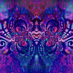 abstract distortedart multilayer colorchange remix freetoedit