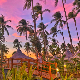 pccolorfulsummer colorfulsummer elnido palawan sunset