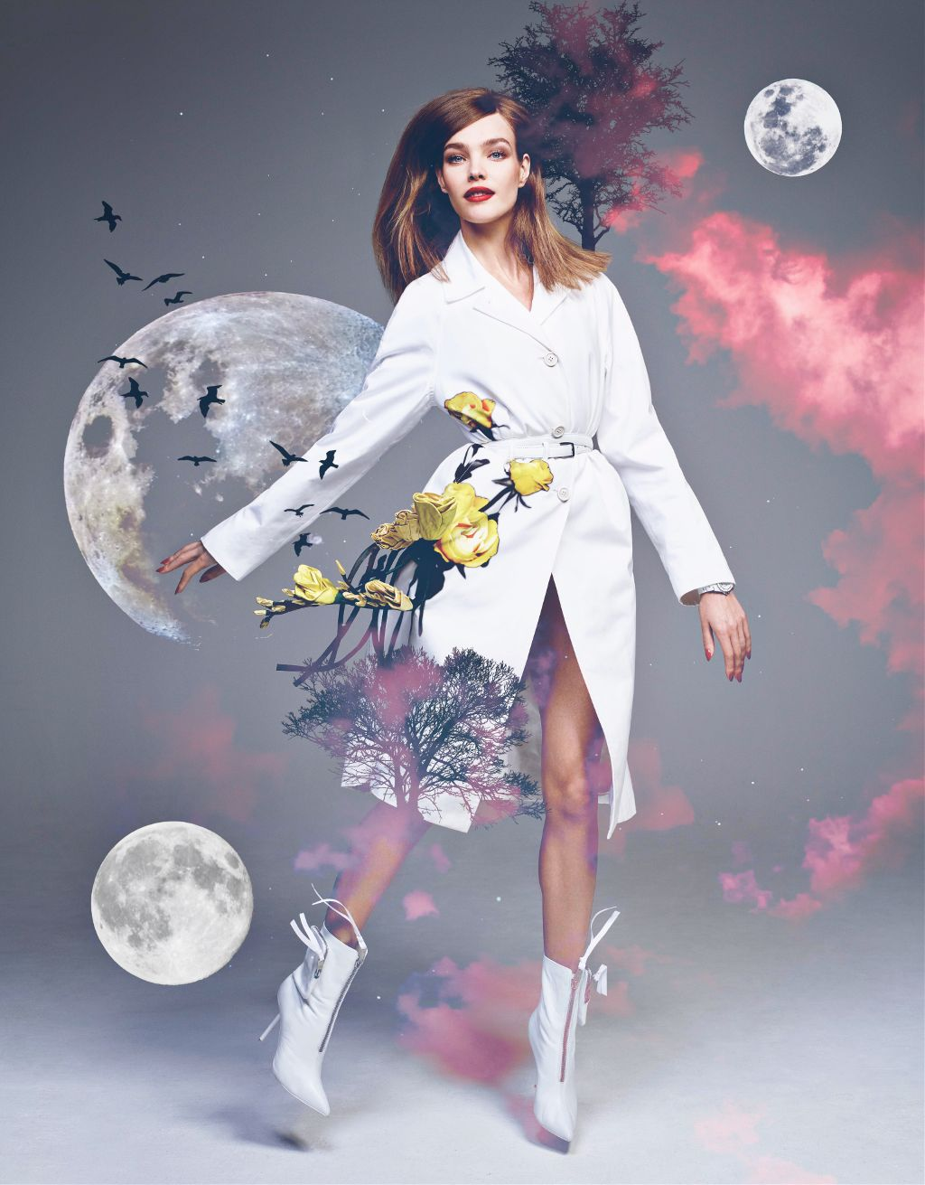 #freetoedit  This is my submission for a challenge! Hope you enjoy it:)    #design #moon #cloud #sky #nature #model #china #bird #edit #art #interesting #white #galaxy #night #people #summer #pretty #girl #cool