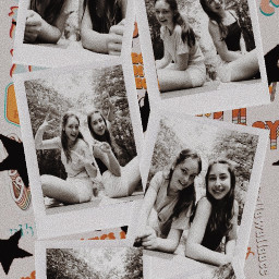polaroid friends
