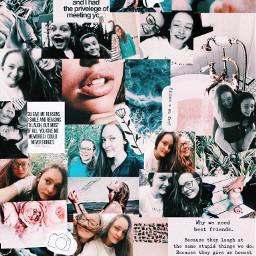 pink friends edits