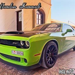 mr707hamdan alialhammadi car hellcat dodge freetoedit