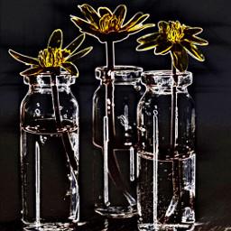 neon neonart fantasy imagination flowers freetoedit