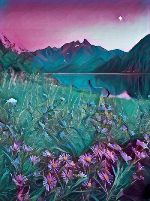 #freetoedit #montain #luna #beautifulpicture #fiori #natura #beautifulnaturephotography #lovenature ❤️🥰💐💕🌹🌼💕🐝🦋💕🏔🌺 @michela76debora