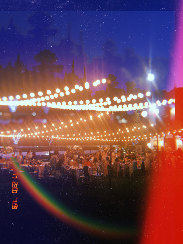 #weddings #photography #huji #hujicamera #hujicam #wedding #outdoorwedding #nightphotography #desi #stringlights #rainbow #summerwedding #pakistaniphotography #pakistani #pakistaniwedding