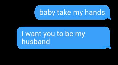 romantic text husband freetoedit