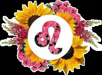 flower sunflower leo zodiac symbol freetoedit scleo