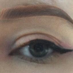 freetoedit pink makeup eye eyeliner