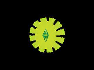 sims green plumbob diamond bright freetoedit