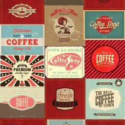 retro vintage coffee background backgrounds freetoedit