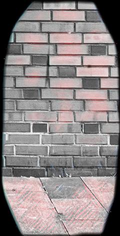 sticker brickwall sidewalk freetoedit