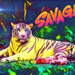 freetoedit selva tiger