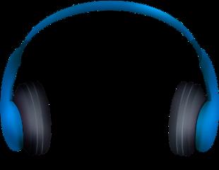 scmyheadphones headphones music blue mydrawing freetoedit