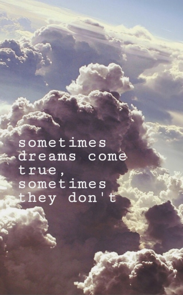 clouds aesthetic quotes dreams