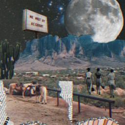 analogcollage desertlife