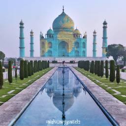 freetoedit 7 sevenwonders wonder tajmahal shahjahan india marble architecture indianarchitecture reflection