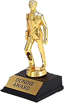 sctrophy trophy theoffice dundie award freetoedit