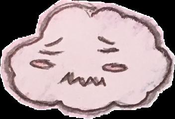 cloud gloomy cute freetoedit