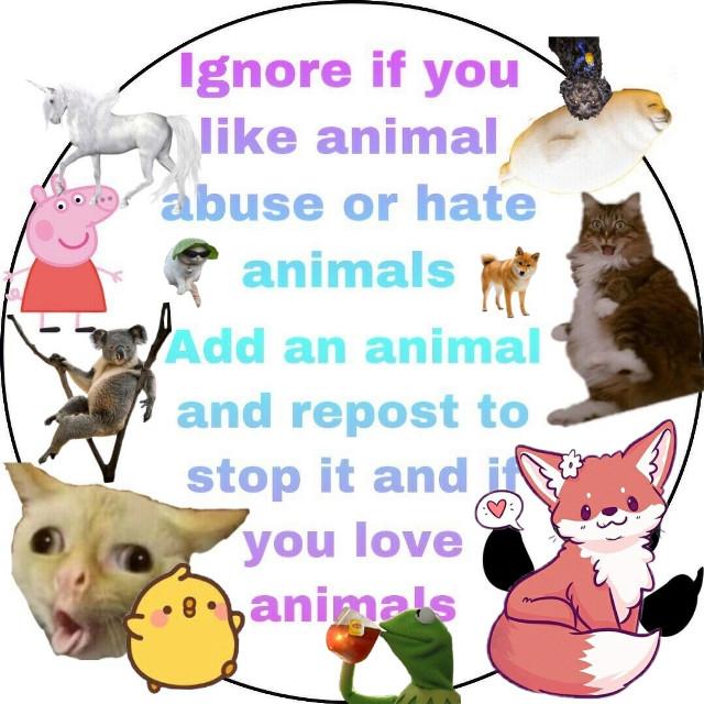 #freetoedit I like animals ;-;