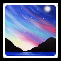 sunsetatnight nightskydreams rainbowmidnightsky moonlightdreams midnightmemories