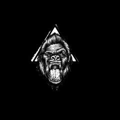 kzap gorilla paint graffiti