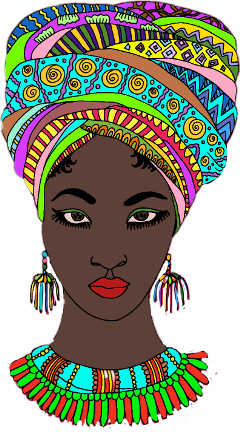 freetoedit woman people africa coloring