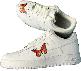 shoes airforceones butterfly aesthetic beigeaesthetic freetoedit