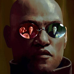 morpheus the matrix thematrix matrixart
