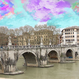tbt italy rome traveling clouds freetoedit