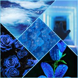 blueaesthetic promotion picsart pics edit