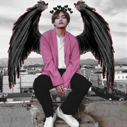 freetoedit taehyung bts