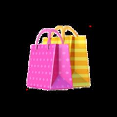 shoppingbags shopping shop bag iphoneemoji freetoedit