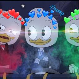freetoedit ducktales dewey huey louie
