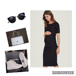 outfitideas outfit maternity maternityoufitsideas chanel