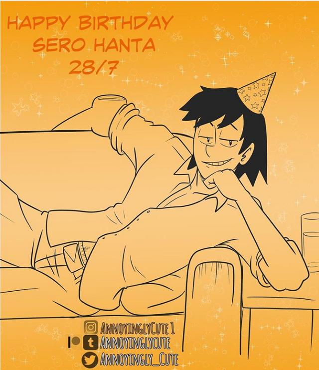 I'm late a day again ;-;   #freetoedit #bokunoheroacademia #serohanta  Artist: annoyingycute1