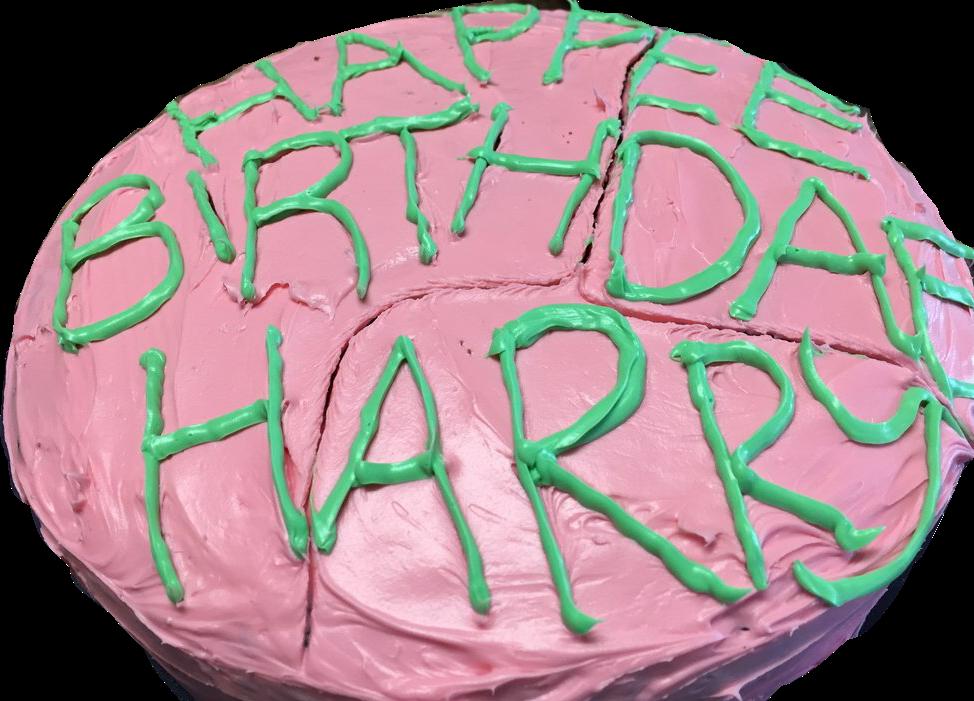 #harrypotter #birthdaycake #hagrid #harrypottersbirthdaycake #sticker #freetoedit