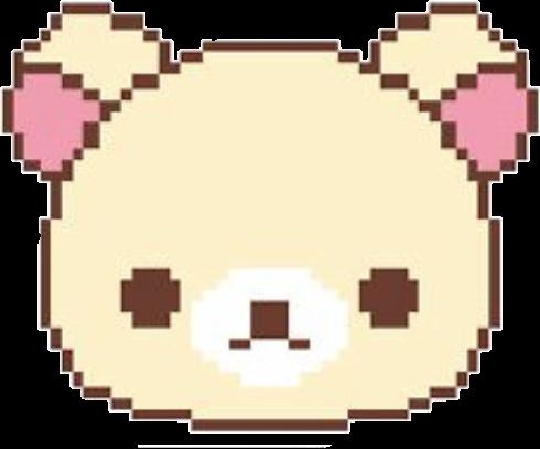 #pastel #kawaii #pixelart #pixel #game #pixelgame #hilakkuma #pixelhilakkuma